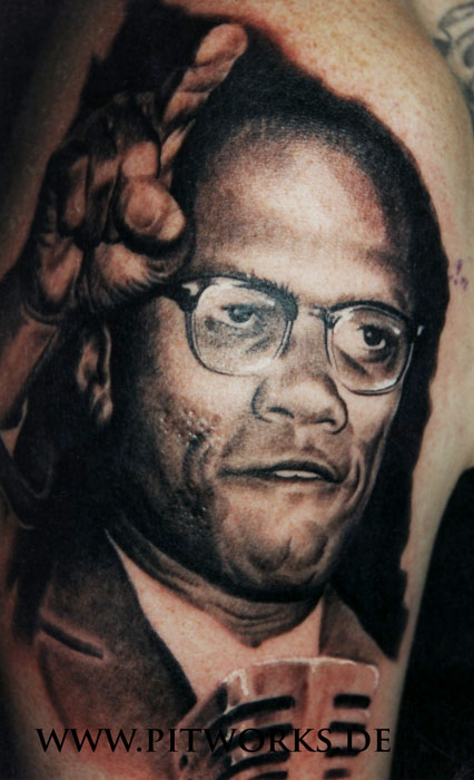 Galleries for Nas malcolm x tattoo